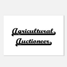 Agricultural Auctioneer A Postcards (Package of 8)