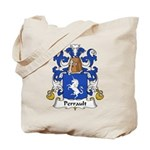 Perrault Family Crest  Tote Bag