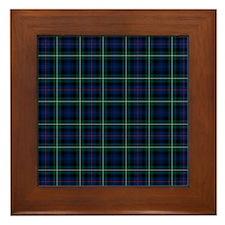 Mac Kenzie Clan Tartan Framed Tile