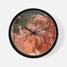 Bryce Canyon, Utah, USA 16 (caption) Wall Clock