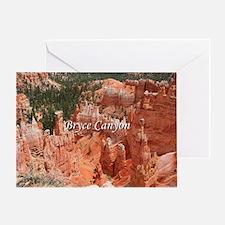 Bryce Canyon, Utah, USA 16 (caption) Greeting Card