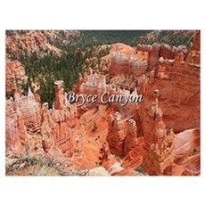 Bryce Canyon, Utah, USA 16 (caption) Framed Print
