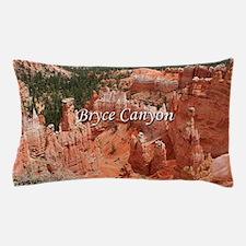 Bryce Canyon, Utah, USA 16 (caption) Pillow Case