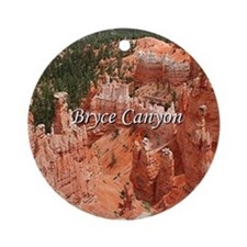 Bryce Canyon, Utah, USA 16 (caption Round Ornament