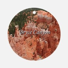Bryce Canyon, Utah, USA 16 (caption Round Ornament