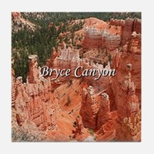Bryce Canyon, Utah, USA 16 (caption) Tile Coaster