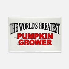 """The World's Greatest Pumpkin Grower"" Rectangle Ma"