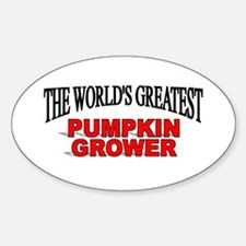 """The World's Greatest Pumpkin Grower"" Decal"