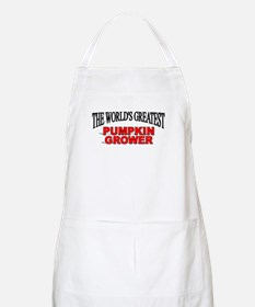 """The World's Greatest Pumpkin Grower"" BBQ Apron"