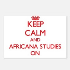 Keep Calm and Africana St Postcards (Package of 8)