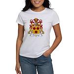 Peronne Family Crest Women's T-Shirt