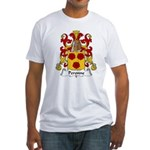 Peronne Family Crest Fitted T-Shirt