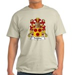 Peronne Family Crest Light T-Shirt