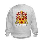 Peronne Family Crest Kids Sweatshirt