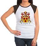 Peronne Family Crest Women's Cap Sleeve T-Shirt