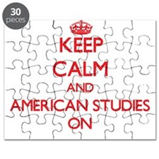 Keep Calm and American Studies ON Puzzle