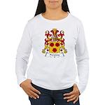 Peronne Family Crest Women's Long Sleeve T-Shirt