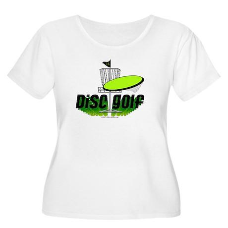 Dics Golf Women's Plus Size Scoop Neck T-Shirt