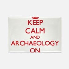 Keep Calm and Archaeology ON Magnets