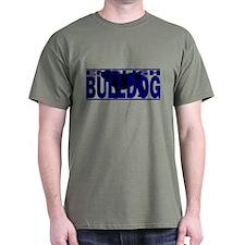 Org Hidden English Bulldog T-Shirt