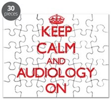 Keep Calm and Audiology ON Puzzle