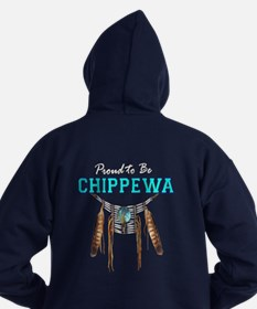 Proud To Be Chippewa Hoodie