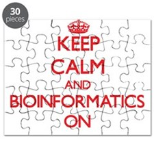 Keep Calm and Bioinformatics ON Puzzle