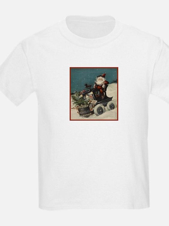 St. Nick on Train T-Shirt