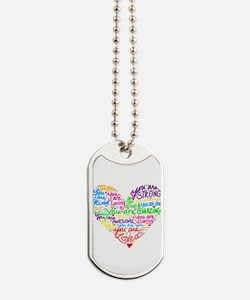 You Are Loved Dog Tags