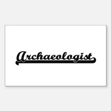 Archaeologist Artistic Job Design Decal