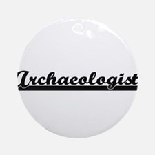 Archaeologist Artistic Job Design Ornament (Round)