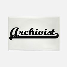 Archivist Artistic Job Design Magnets