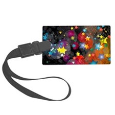 Party Stars Decorations Pattern Luggage Tag