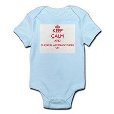 Keep Calm and Classical Armenian Studies Body Suit