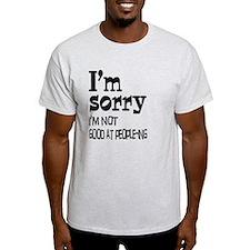 Not Good People-ing T-Shirt