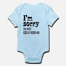 Not Good People-ing Infant Bodysuit