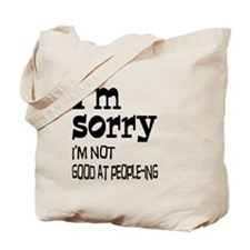 Not Good People-ing Tote Bag