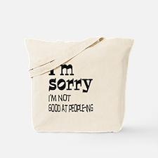 Not Good People-ing Tote Bag