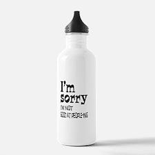 Not Good People-ing Water Bottle
