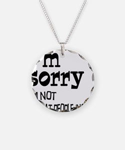 Not Good People-ing Necklace