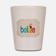 Belize Shot Glass