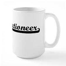 Auctioneer Artistic Job Design Mugs