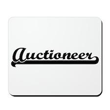 Auctioneer Artistic Job Design Mousepad