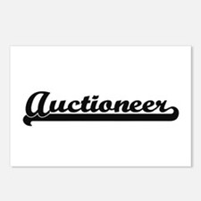 Auctioneer Artistic Job D Postcards (Package of 8)