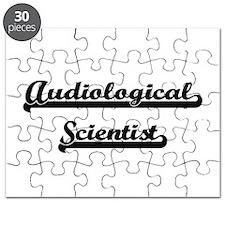 Audiological Scientist Artistic Job Design Puzzle