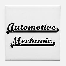 Automotive Mechanic Artistic Job Desi Tile Coaster