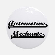 Automotive Mechanic Artistic Job Ornament (Round)