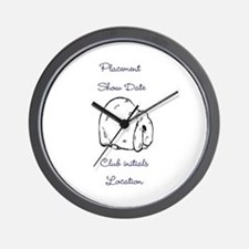 Basic Mini Lop Award 1 Wall Clock