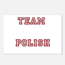 Team Polish Postcards (Package of 8)