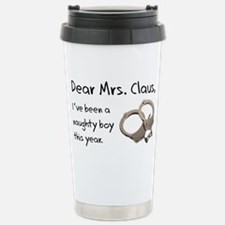 BEEN A NAUGHTY BOY Stainless Steel Travel Mug
